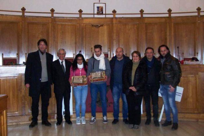 Consegnati i premi etnei dell'anno a Pellegrino e Ippolito