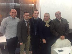 Giacomo Leone e comitato organizzatore