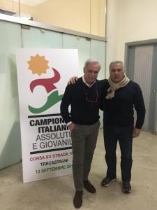 Pippo Leone e Massimo Magnani