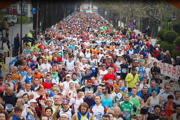 "Si tinge d'azzurro la ""Treviso Marathon"""