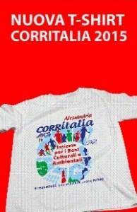 Nuova t-shirt CORRITALIA