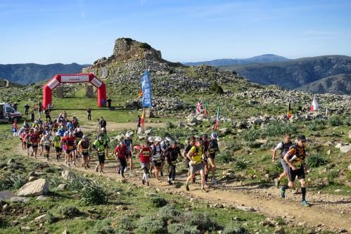"""Antonio Filippo Salaris al via del """"IV Sardinia Trail"""""""
