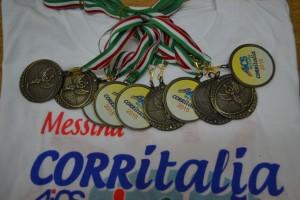 T-shirt e medaglie CORRITALIA 2015