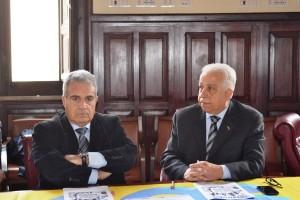 Violato-Margareci conferenza stampa CORRITALIA