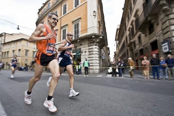 Tanti maratoneti speciali in gara nella Capitale