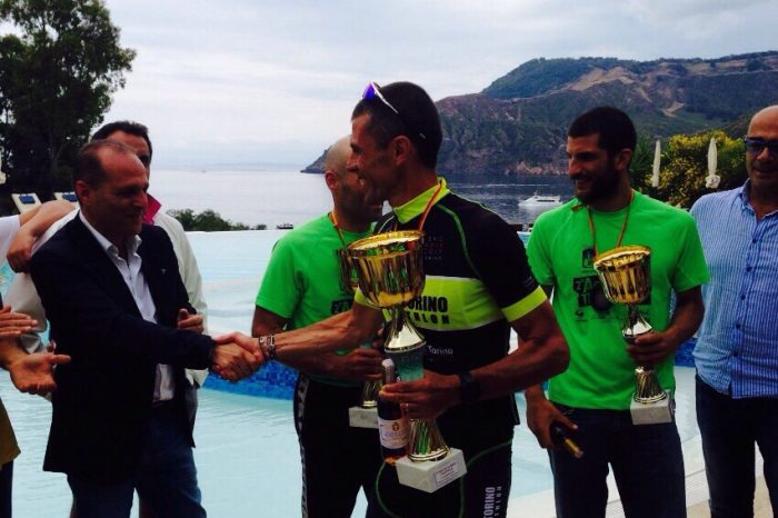 """""""Aeolian Triathlon"""", vincono Boni e Bonanno"""