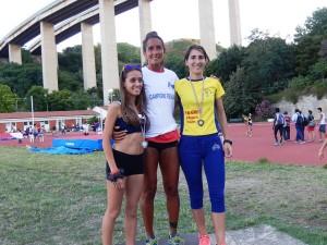 Katia Scionti (Stilelibero) sul podio dei 1500