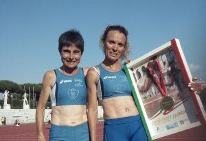 Marta Roccamo e Maria Ruggeri al Golden Gala