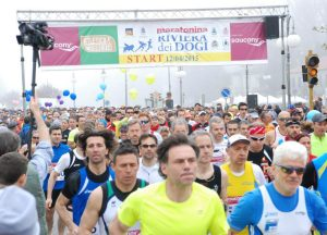 Maratonina dei Dogi, la partenza