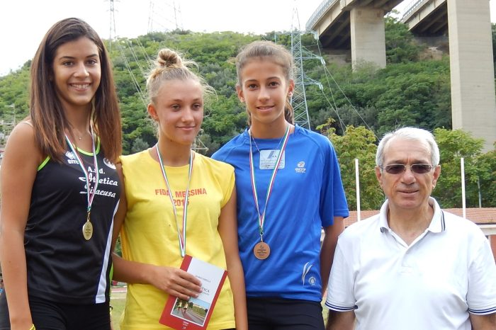 """La giovane Luiza Buzic vola nel lungo al """"Criterium"""""""