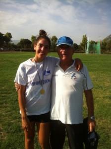 Aurora Pettineo con Aldo Iraci