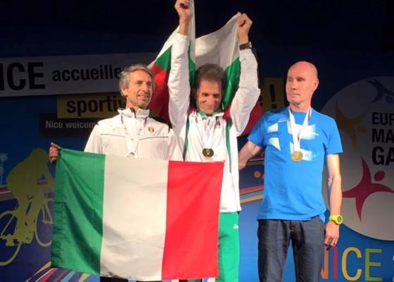 Argento per il catanese Gianfranco Belluomo a Nizza