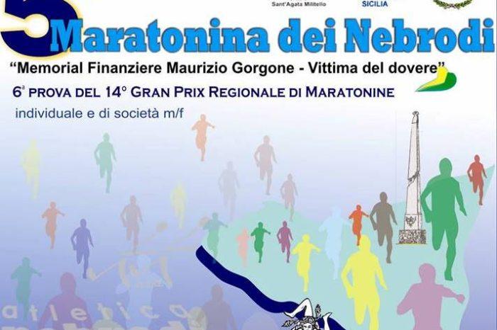 Riprende a Sant'Agata di Militello il GP Sicilia di mezze maratone