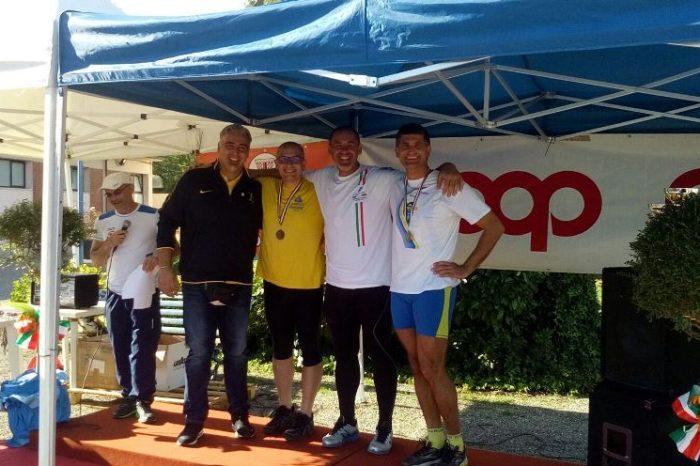 Francesco Longo e Salvatore Pino sul podio a Pistoia