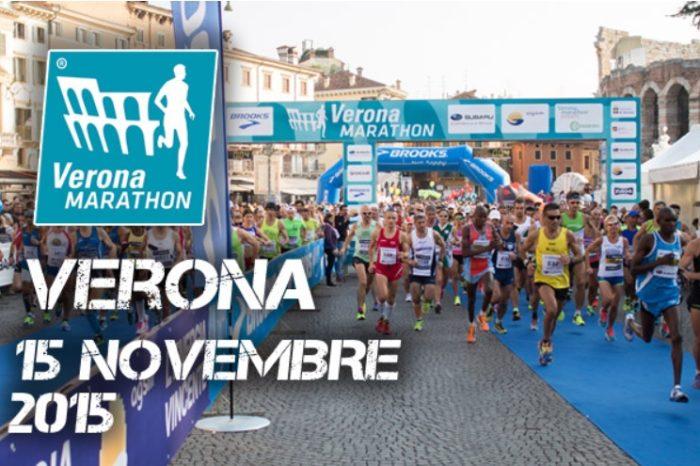 I favoriti della Veronamarathon di domenica 15 novembre
