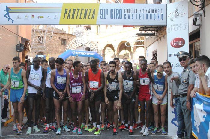 Giro podistico Internazionale di Castelbuono: ecco il manifesto