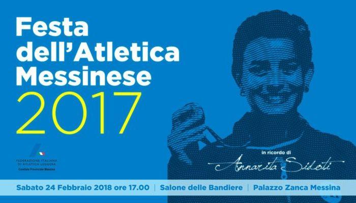 Sabato a Palazzo Zanca la Festa dell'Atletica Messinese 2017
