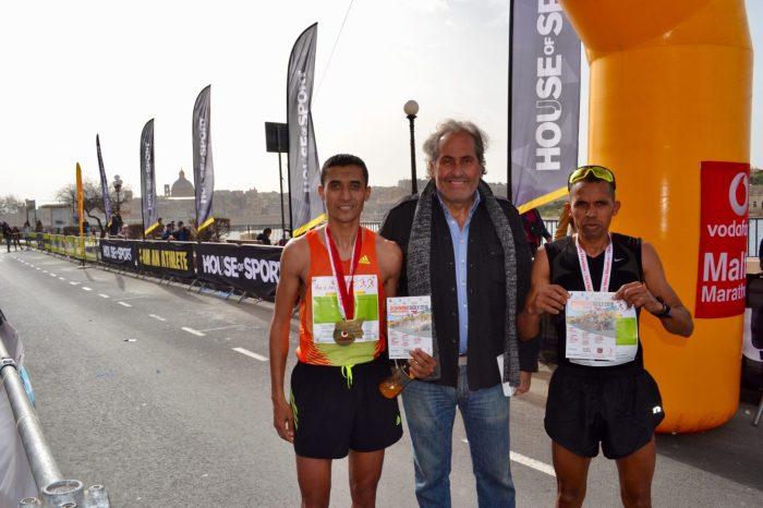 """Dominio africano alla """"Maratona di Malta"""""""