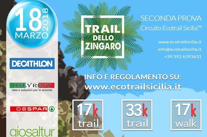 """In 300 al via del primo """"Trail dello Zingaro"""""""