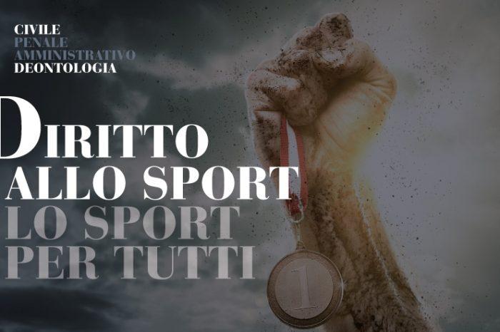Convegno a Messina sul diritto allo sport