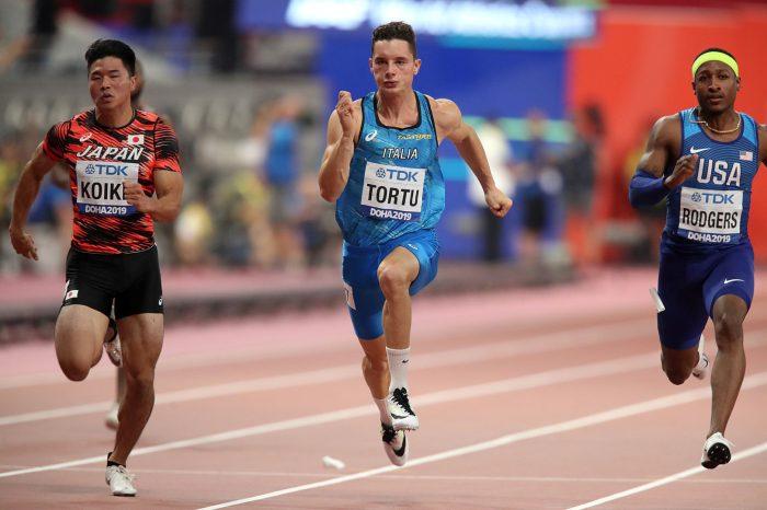 Tortu settimo nella finale mondiale dei 100 metri