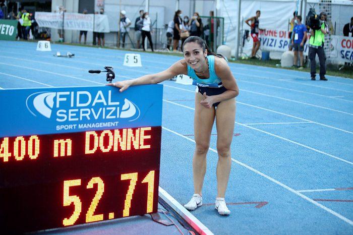 Alice Mangione ospite di Atletica TV