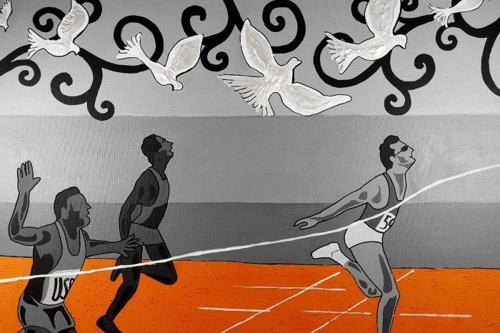 L'atletica pop nelle opere dell'artista catanese Salvo Ardizzone