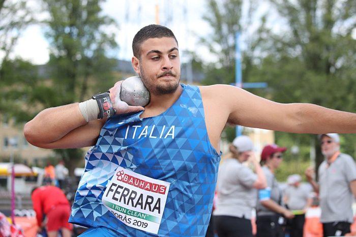 Il reggino Riccardo Ferrara sfiora i 20 metri nel peso