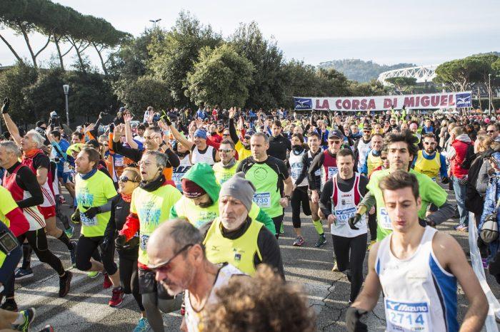 """""""Corsa di Miguel"""" su 117 percorsi"""
