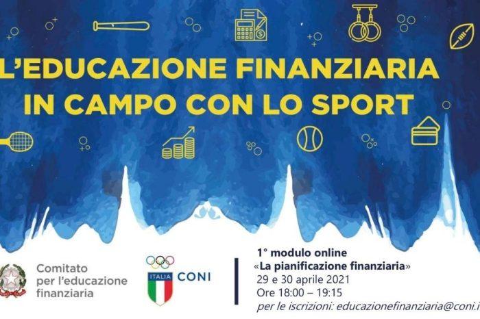 I webinar del CONI su educazione finanziaria e sport
