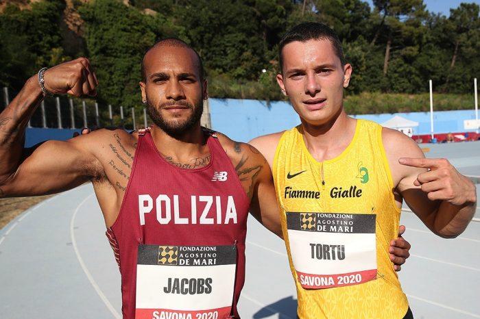 La sfida show: Tortu contro Jacobs a Savona