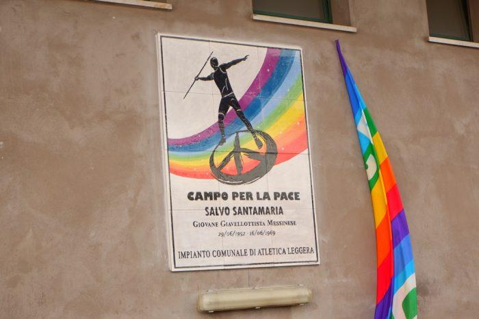 Scoperta la targa commemorativa in memoria di Salvo Santamaria